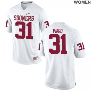 Grant Ward For Women College Jerseys Limited White Sooners