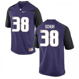 Washington Hayden Schuh Jersey S-2XL Purple Game For Women