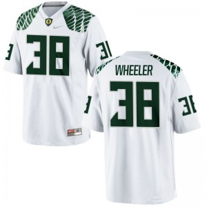 Ian Wheeler Youth Oregon Jersey White Limited Jersey
