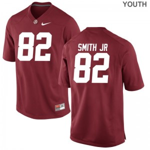 Irv Smith Jr. University of Alabama Game For Kids Red Alumni Jersey