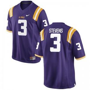 JaCoby Stevens Men LSU Jersey Purple Limited Player Jersey