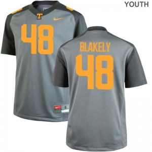 Youth Gray Game Tennessee Volunteers High School Jerseys Ja'Quain Blakely