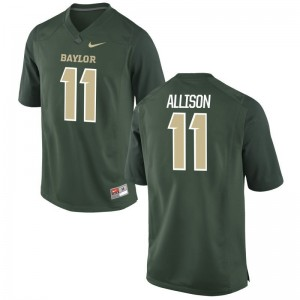 University of Miami Mens Limited Green Jack Allison Jerseys