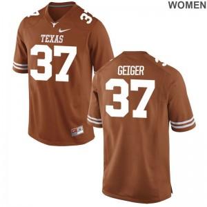 UT Jack Geiger Women Orange Limited Jerseys