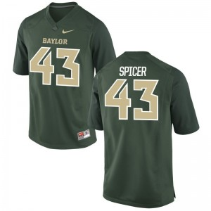 Miami Green Limited Men Jack Spicer College Jerseys