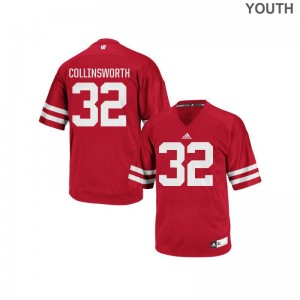 UW Alumni Jersey Jake Collinsworth Kids Red Authentic