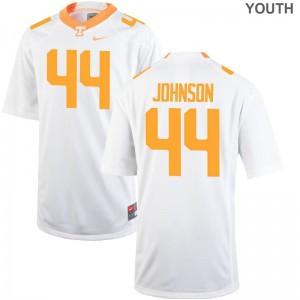 Vols Jakob Johnson Jerseys NCAA Youth Game White Jerseys