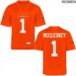 OSU Jalen McCleskey Jersey Alumni Ladies Game Orange Jersey