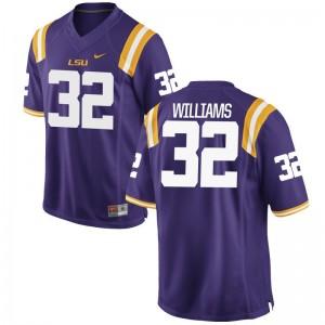Jalen Williams LSU Game For Kids Player Jersey - Purple