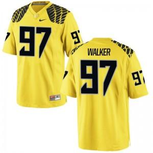 For Men Jalontae Walker Jerseys Player Gold Game Ducks Jerseys