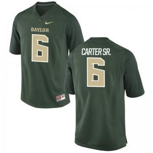 University of Miami Green Game Mens Jamal Carter Sr Jerseys S-3XL