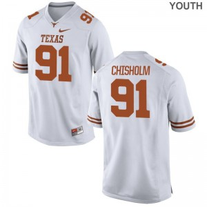 UT Alumni Jersey of Jamari Chisholm Game Youth(Kids) - White
