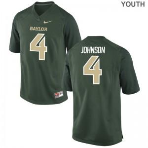 Jaquan Johnson Miami Green Limited Kids College Jerseys