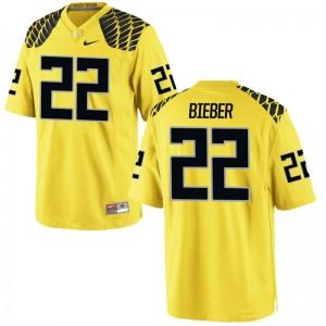 Ducks NCAA Jersey of Jeff Bieber Gold For Women Limited
