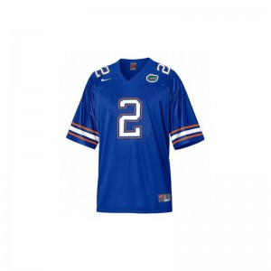 UF Jeff Demps High School Jersey Limited Womens Blue