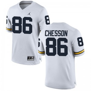 For Women Jehu Chesson NCAA Jersey Wolverines Limited Jordan White