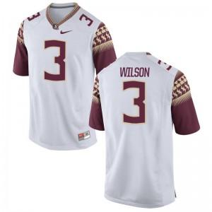 FSU Seminoles Jesus Wilson Limited Kids White College Jersey