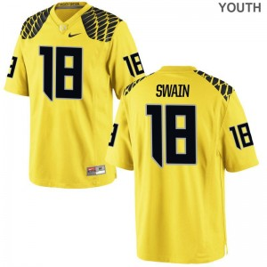 UO Jimmie Swain Limited Youth Jerseys S-XL - Gold