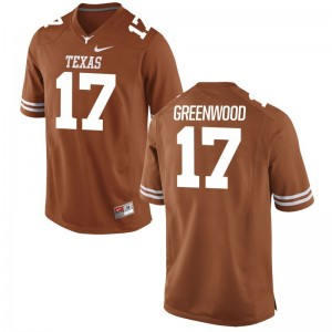 Texas Longhorns NCAA Jimmy Greenwood Limited Jerseys Orange Youth(Kids)