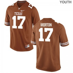 Game Jimmy Morton Jerseys Longhorns Kids Orange
