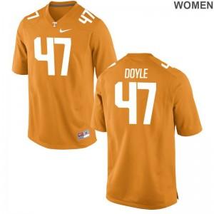 UT Joe Doyle Football Jerseys Womens Game Orange Jerseys