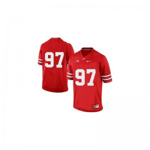 Joey Bosa Youth(Kids) NCAA Jersey Red Limited Ohio State