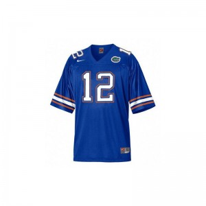 University of Florida John Brantley High School Jerseys Women Blue Limited