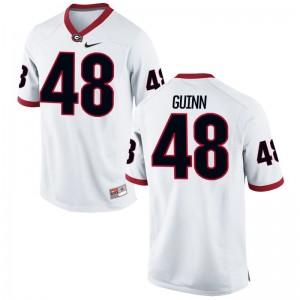 Jonah Guinn Kids White Football Jersey Game UGA Bulldogs
