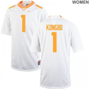 Vols Jonathan Kongbo Jersey For Women Game White