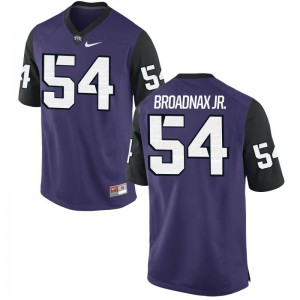 TCU Joseph Broadnax Jr. Limited Mens Purple Black Player Jerseys
