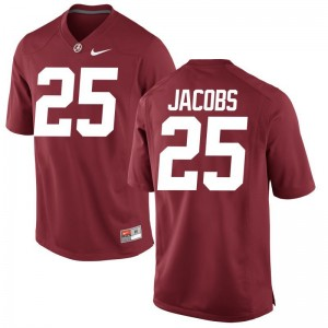 Joshua Jacobs For Men Jerseys S-3XL Limited University of Alabama - Red