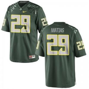 Justin Matias Oregon Ducks Jersey Green Women Limited