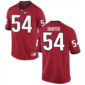 Justin Shaffer UGA Alumni Jerseys For Men Game - Red