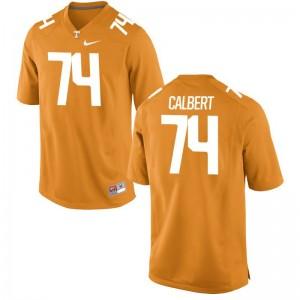 For Men K'Rojhn Calbert Jerseys Orange Limited Tennessee Volunteers Jerseys