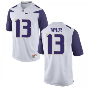 Kendyl Taylor Washington Alumni Jerseys Game For Men - White