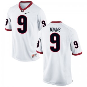 Kenneth Towns UGA Jerseys S-2XL Womens Limited - White