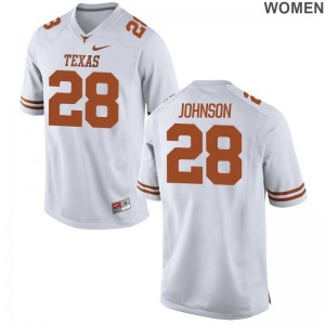 UT Limited Kirk Johnson For Women Jerseys S-2XL - White