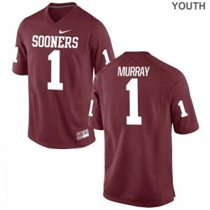 Sooners Kids Game Crimson Kyler Murray Jerseys