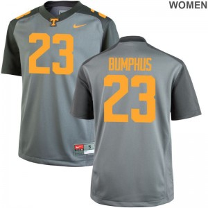 LaTrell Bumphus Jerseys S-2XL Womens Tennessee Limited - Gray