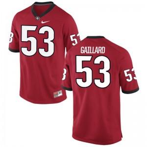 Lamont Gaillard University of Georgia Jerseys Game Red Mens Jerseys