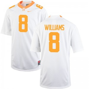 Vols Latrell Williams Game Mens High School Jersey - White