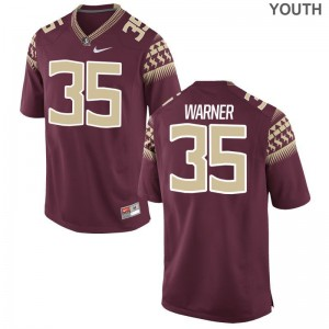 Florida State Seminoles Leonard Warner Jerseys Garnet Kids Game