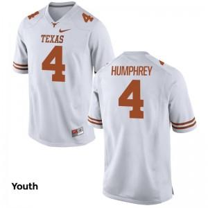Longhorns Lil'Jordan Humphrey Kids White Limited Player Jerseys