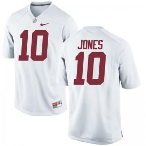 Limited White Mens Bama Jerseys of Mac Jones