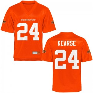 For Kids Malik Kearse High School Jersey OSU Cowboys Orange Game