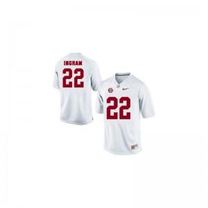 S-2XL University of Alabama Mark Ingram Jerseys NCAA Women Game White Jerseys
