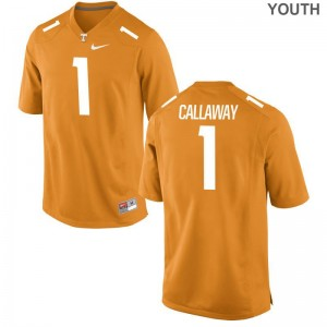 UT Marquez Callaway Limited Kids Orange Alumni Jersey