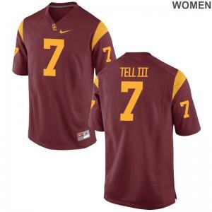 Marvell Tell III USC Trojans Jersey Women Limited White NCAA