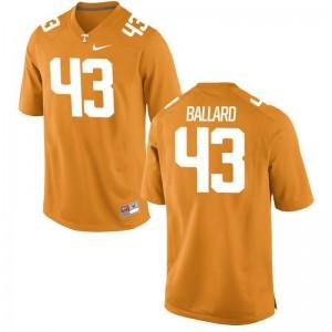 Tennessee Volunteers Matt Ballard For Kids Limited College Jerseys Orange