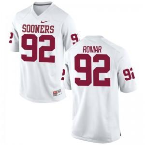 Oklahoma Sooners Matt Romar For Men Game Jerseys White